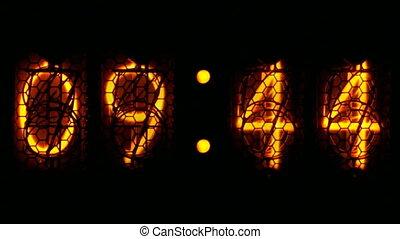 Nixie digital countdown D1