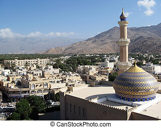 Nizwa Fort in Oman - The Sultanate of Oman in the Middle...