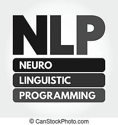 nlp, neuro, linguistic, programación, siglas, -