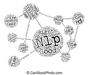 NLP Trainers How To Find A Good One text background...