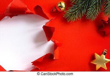 noël, arrière-plan;, saison, salutation, fetes, conception, bannière, ou, carte