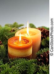 noël bougies