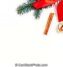 noël, fetes, fond, à, fête, décorations, et, cases don, blanc, conseil bois, à, espace copy, pour, ton, texte
