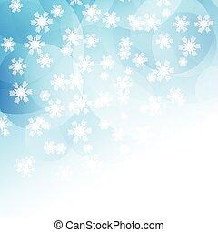 noël, flocons neige, fond, 0612