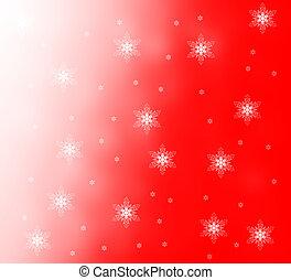 noël, flocons neige, fond, pour, ton, conception