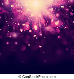noël, fond, violet, résumé