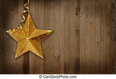 noël, pays, étoile