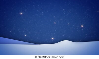 noël, scintillements, arbre, neiger, fond