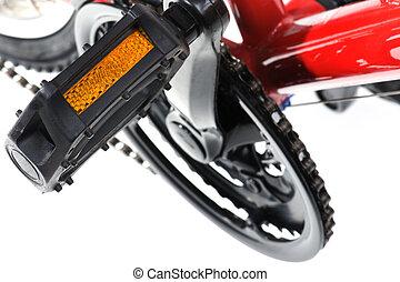 nožní, jezdit na kole