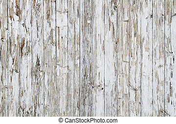 no., 古い, 外気に当って変化した, 木製である, 背景, 9, 白