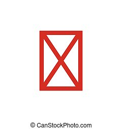 no, acción, aislado, disponible, símbolo, ilustración,...