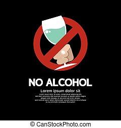 no, alcohol.