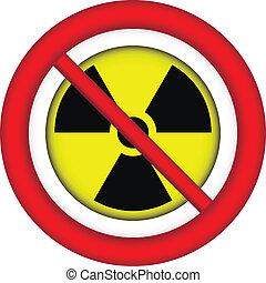 No atom sign.