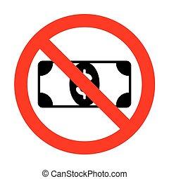No Bank Note dollar sign.