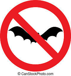 No bat sign