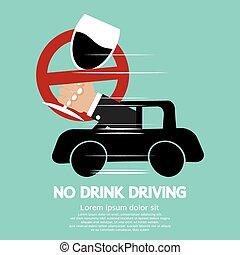 no, bebida, driving.