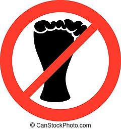 no beer sign (no alcohol prohibiting symbol )