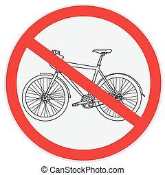 No bicycle