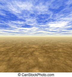 No Boundaries Scenery With Light Blue Skies