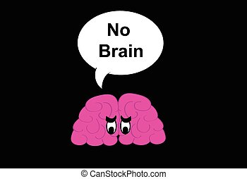 No Brain cartoon