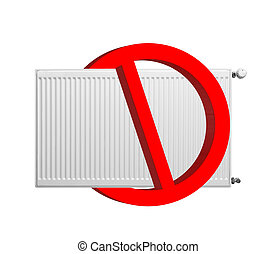 no, calefacción, señal