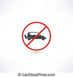 no cars icon