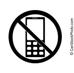 No cell sign