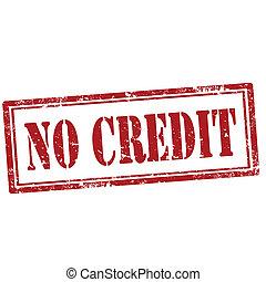 No Credit-stamp