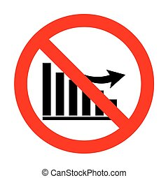 No Declining graph sign.