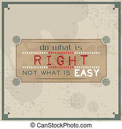 no, derecho, qué, fácil