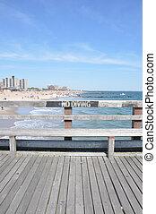 No Diving Coney Island Pier