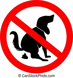 No Dog poo symbol