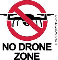 No Drone Zone Ban Icon