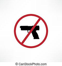No firearms symbol