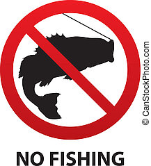 No Fishing Sign