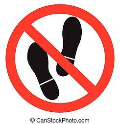 No foot