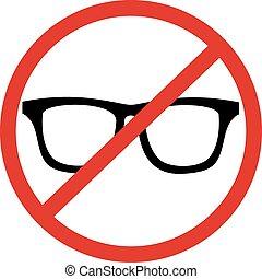 No glasses - Creative design of No glasses