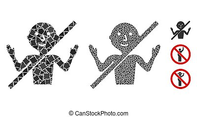 No guru Mosaic Icon of Unequal Items