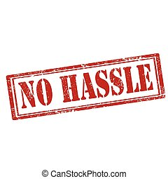 No Hassle-stamp