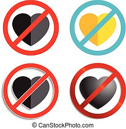 No heart Sign
