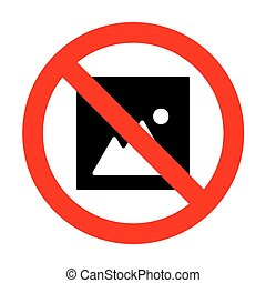 No Image sign illustration.