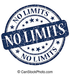 No Limits Blue Stamp