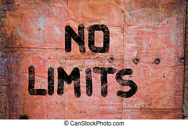 No Limits Concept
