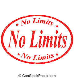 No limits -stamp