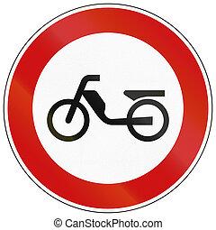 No Mopeds