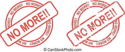 no more stamp sticker in vector format very easy to edit
