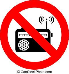 no, musica, segno