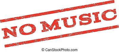 no, musica, watermark, francobollo