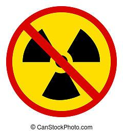 no Nuclear Symbol