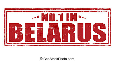 No one in Belarus - Stamp with text no one in Belarus vector...
